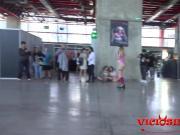 Alexa Nasha patinando desnuda en el SEMAD