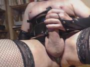 Crossdressing and jacking off - Vol. 6