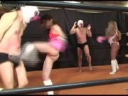 Japanese Femdom Hard Ballbusting