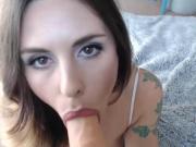 girl on webcam