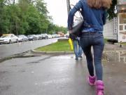 russian sexy ass run