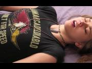 Beautiful orgasmus of young beauty