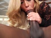 Sexy Kelsi Monroe Meets Mandingo
