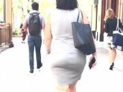 Grey Dress Pawg Ass