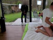 Krass Beim Videodreh erwischt 2faches Spermafinale