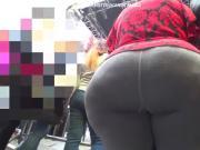 Mega booty latin woman