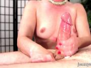 Cock Massage with Ball & Cumplay