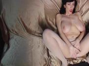 Big Natural Tits 34G Milf Alia Nylon Show #MrBrain1988
