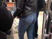 Teen Jeans ass