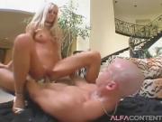 Blonde Hottie Gets Her Pussy Destroyed