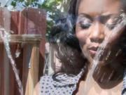 Stunning Ebony Housewife