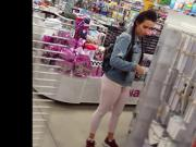 Candid voyeur thick ass booty perfect shopping mall public