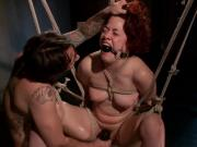 Hot ALT girl fucked in bondage for the first time!!