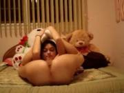 Hot flexible teen mastrubates