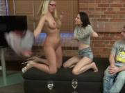 nerd in glasses trying to fuck horny teen and mature milf