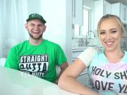 Hussie Auditions: Blonde Babe Bailey Brooke's First Audition