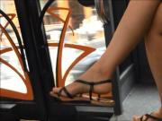 Candid Feet & Legs in the Bus
