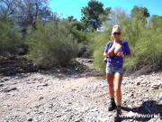 Busty MILF Swallows My Load After Hiking