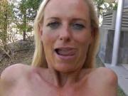 Shameless Horny Wife Swallows Stranger's Cum After Divorce