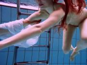 Amazing hairy underwatershow by Marketa