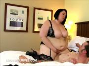 Alexxxis gets him hard & ready to fuck