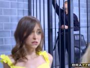 Brazzers - Brazzers Exxtra - Licking Locked Up scene starrin