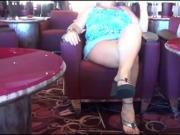 Flashing at the cruise bar