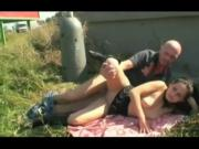 NEXXXT AMATEUR DADDY'S LIL GIRL OUTDOOR FUCK SLUT