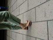 Candid feet slo mo