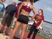 Not Teen Tight Spandex Shorts Track n Field