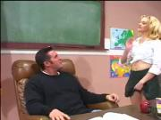 teachers pet is good at sucking cock
