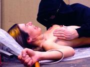 Genoveva Rossi Nude Tied Scene On ScandalPlanet.Com
