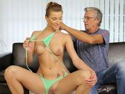 DADDY4K. Dude catches attractive girlfriend making love...