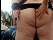 Tied and Spanked BBW