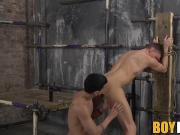 David Paw loves spanking and playing with Billy Rocks ass