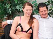 LETSDOEIT - Straight German Couple First SEXTAPE