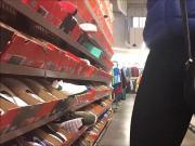 teen shoe shopping
