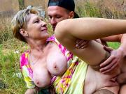 Granny Takes Cock like a Teen