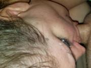 Baby girl just loves sucking daddus cock every dau