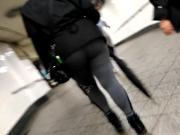 Phat Booty walking Gray Sweat