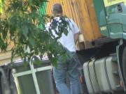 Truckers Peeing in Public 174
