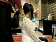 Chinese Hairjob 8