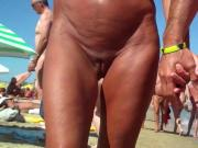 Sexy Nudist Milfs SpyCam Close Up Beach Voyeur HD Video