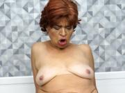 Saggy titted nasty grandma
