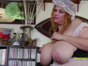 English Housemaid with pretty big bangers