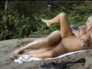 My Busty Mom Gets Fucked By Our New Neighbor on the Beach