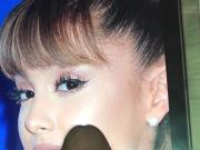 Ariana grande cum tribute 06