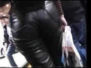 Leather Pants Babe
