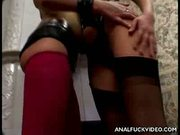 Holly and Maxine's Ass Fucked