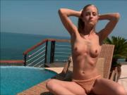 Sicilia Enjoys Outdoor Masturbating
